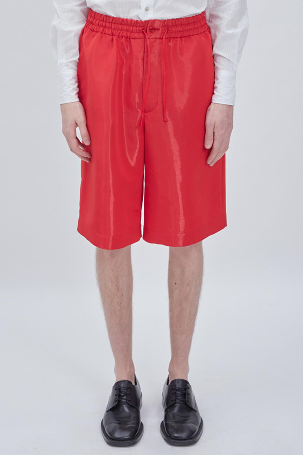 OVERSIZED HALF PANTS (RED)
